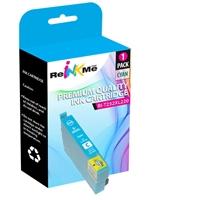 Epson 252XL T252XL220 Cyan Ink Cartridge - Remanufactured