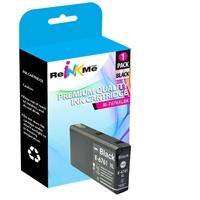 Epson 676XL T676XL120 Black Ink Cartridge - Remanufactured