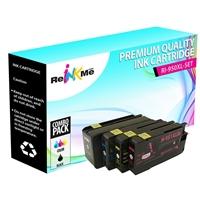 HP 950XL Black & 951XL Color 4 Pack Compatible Ink Cartridges