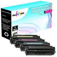 Canon 118 Black & Color Compatible Toner Cartridge Set