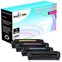 Canon 131 Black & Color Compatible Toner Cartridge Set