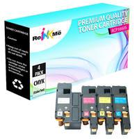 Dell C1660w Black & Color Compatible Toner Cartridge Set