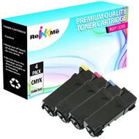 Dell 1320C Black & Color Compatible Toner Cartridge Set