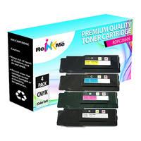 Dell C2660 Black & Color Compatible Toner Cartridge