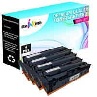 HP M182 Black & Color Compatible Toner Cartridge Set