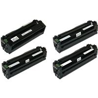 Samsung 505L Compatible Black & Color Toner Cartridge Set